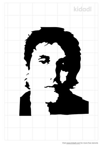 john-mayer-silhouette-stencil