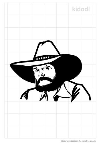 johnny-paycheck-stencil