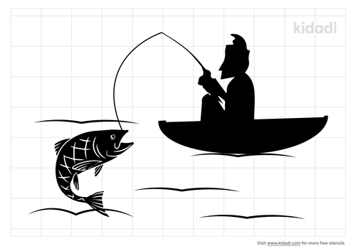 jumping-salmon-and-fishing-boat-stencil.png