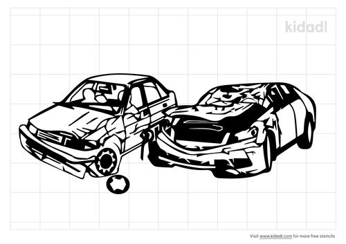 junkyard-wrecked-car-stencil