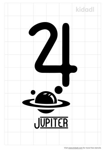 jupiter-symbol-stencil