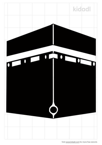 kaaba-stencil
