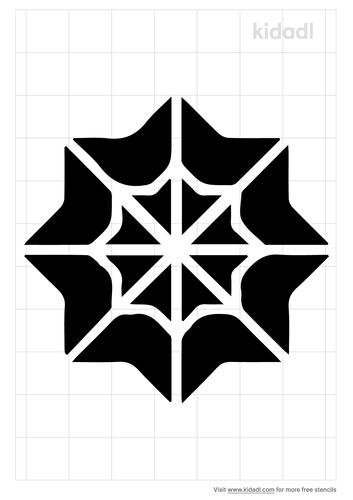 kaleidoscope-stencil