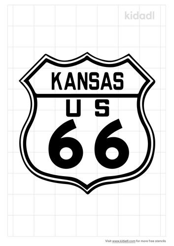 kansas-route-66-road-sign-stencil