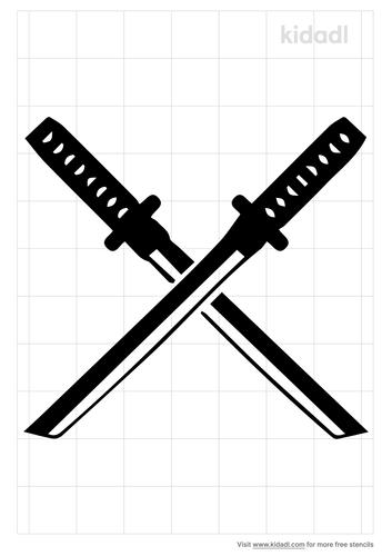 katana-stencil