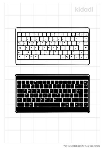 keyboard-stencil