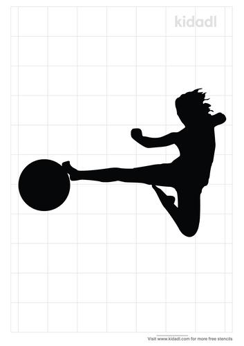 kickball-stencil