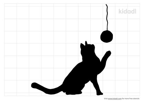 kitten-playing-with-ball-of-string-stencil.png