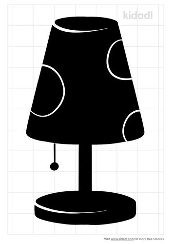 lampshade-stencil
