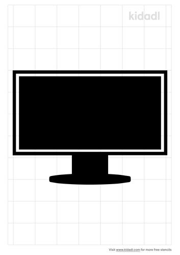 lcd-monitor-stencil