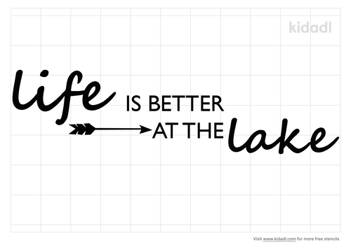 life-is-better-stencil