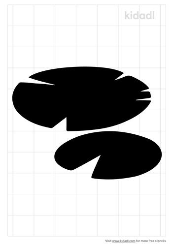 lily-pad-stencil