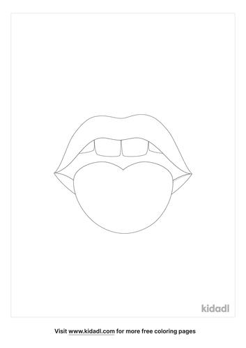 lips-with-tongue-coloring-page
