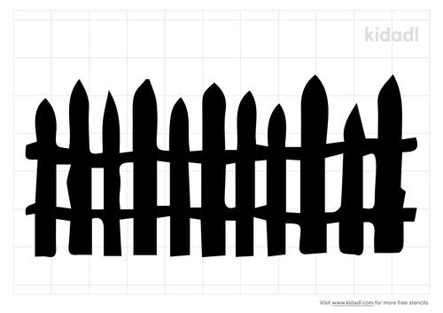 log-fence-stencil