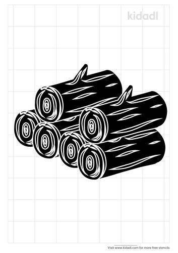 log-pile-stencil