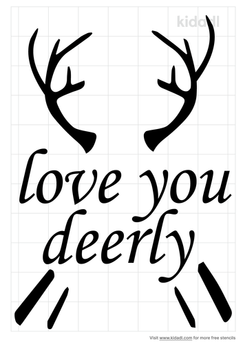 love-you-deerly-stencil