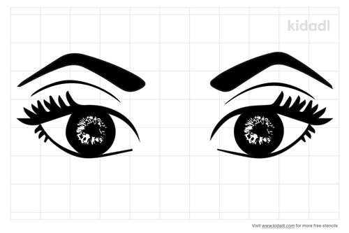 lovely-eyes-stencil