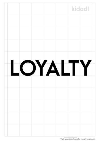 loyalty-stencil