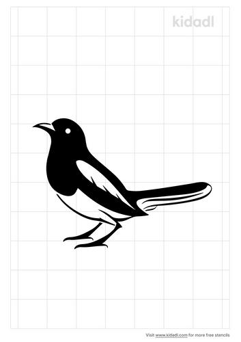 magpie-stencil