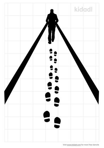 man-walking-away-stencil
