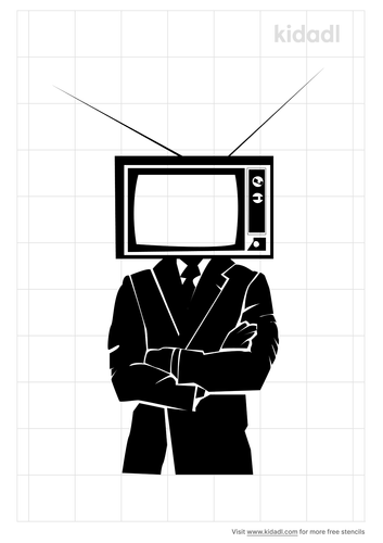 man-with-tv-for-head-stencil
