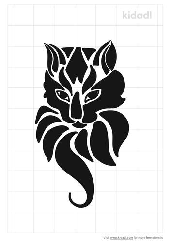 mandala-cat-designs-stencil