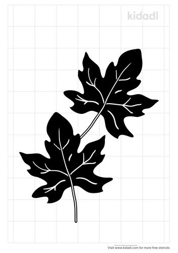 maple-leaf-stencil