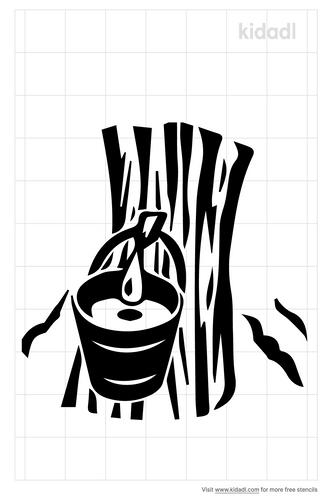 maple-tree-with-bucket-stencils