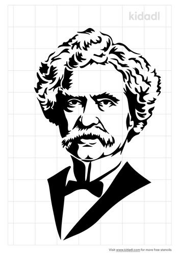 mark-twain-stencil