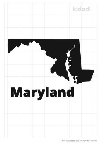 maryland-stencil