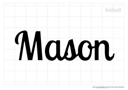 mason-name-stencil
