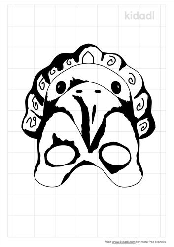 mayan-eagle-mask-stencil.png