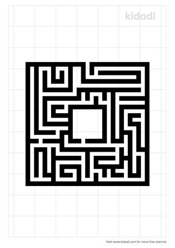 maze-stencil