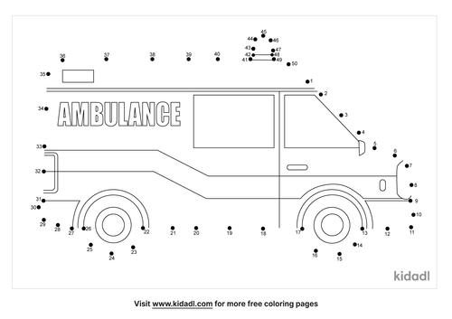medium-ambulance-dot-to-dot