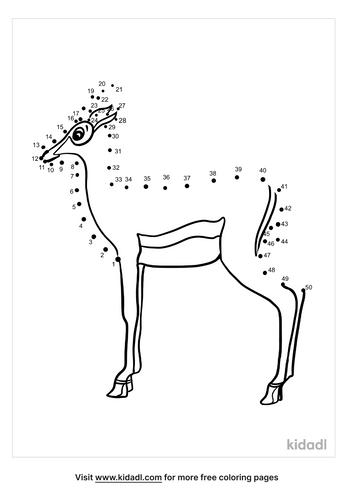 medium-antelopes-dot-to-dot