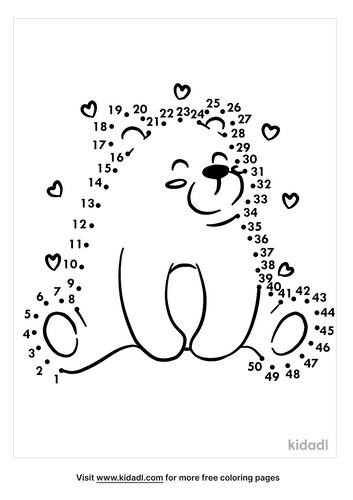 medium-bear-dot-to-dot