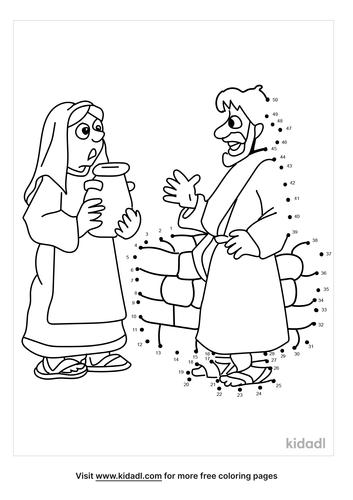 medium-bible-woman-at-well-dot-to-dot