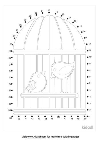 medium-bird-in-a-cage-dot-to-dot