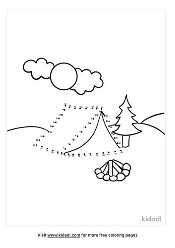 medium-camping-dot-to-dot