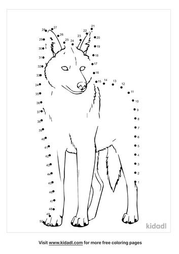 medium-coyote-dot-to-dot