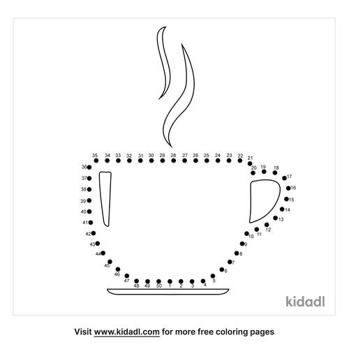 medium-cup-dot-to-dot