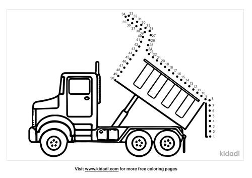 medium-dump-truck-dot-to-dot