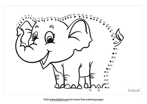 medium-elephant-dot-to-dot