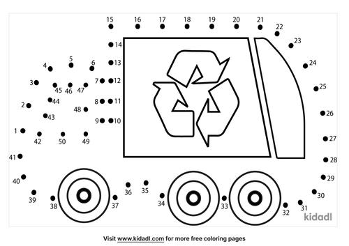 medium-garbage-truck-dot-to-dot