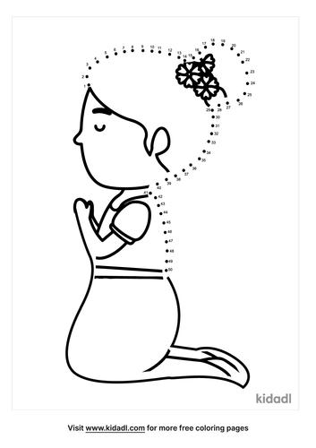 medium-girl-praying-by-bed-dot-to-dot
