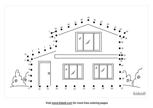 medium-house-dot-to-dot