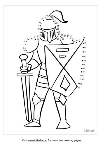 medium-knight-dot-to-dot