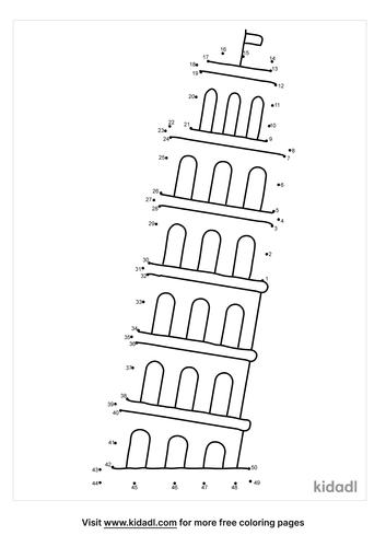 medium-leaning-tower-of-pisa-dot-to-dot