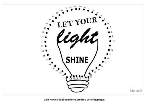 medium-let-your-light-shine-dot-to-dot