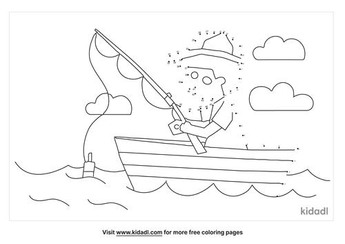 medium-man-on-boat-dot-to-dot